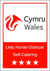 Tyn Cellar self catering cottages 4 star visit Wales